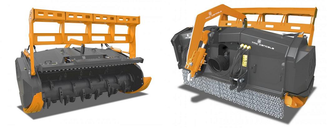 stubbefres / krattknuser traktor TFR