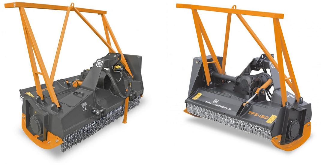 stubbefres / krattknuser til traktor TFS