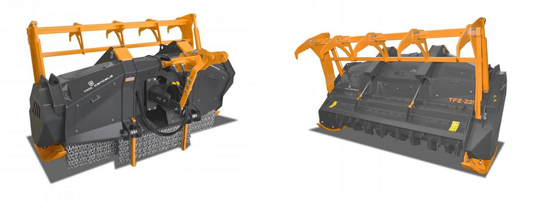 stubbefres / krattknuser traktor TMC Cancela TFZ