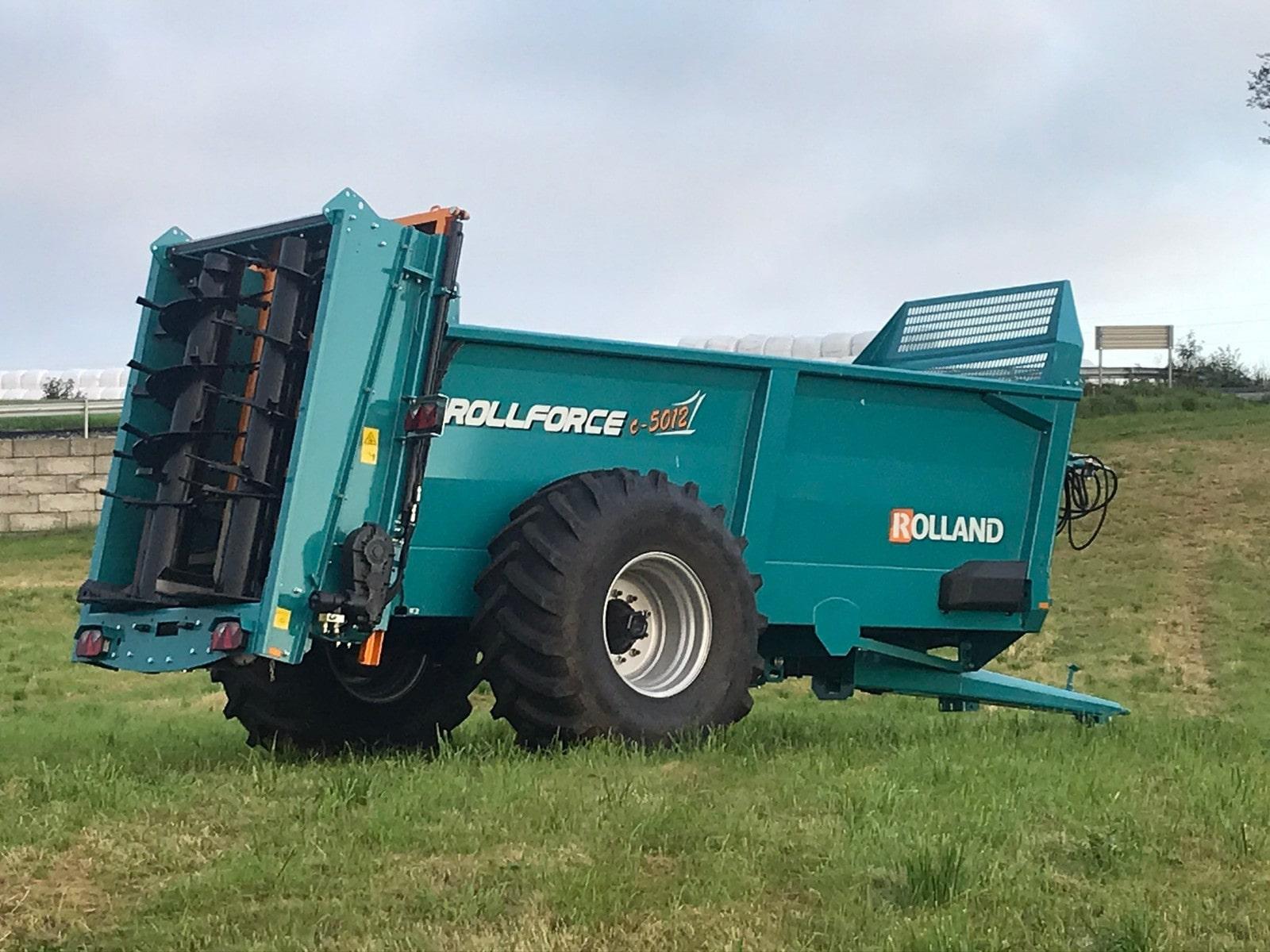 Rollforce Compact 5012 tørrgjødselvogn