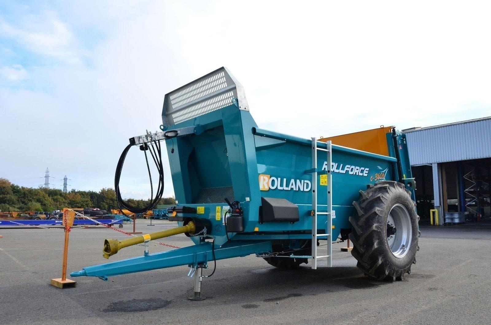 ollforce compact 3706 tørrgjødselvogn