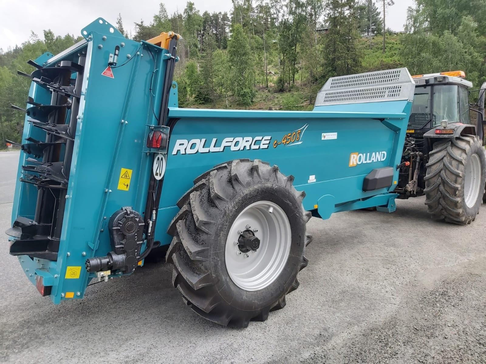 Rollforce compact 4508 tørrgjødselvogn